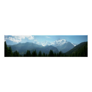 Swiss Alps Panoramic Posters