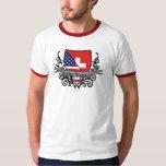 Swiss-American Shield Flag Shirts