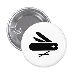 Swiss Army Knife Pictogram Button