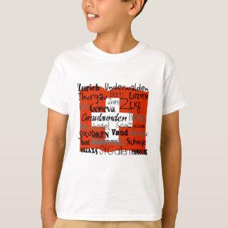 Swiss Cantons Kids Shirt