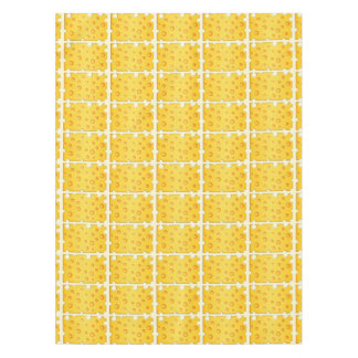 Swiss Cheese Cheezy Texture Pattern Tablecloth