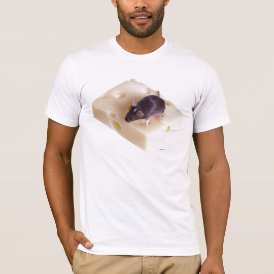Swiss Cheese Mouse T-Shirt