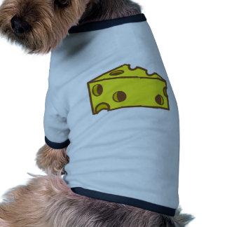 Swiss cheese ringer dog shirt
