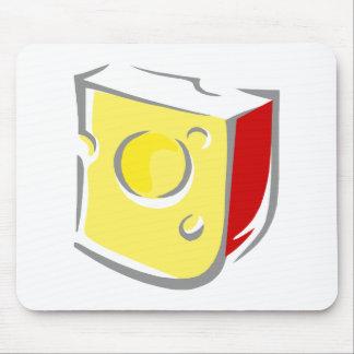Swiss Cheese Wedge Mousepads