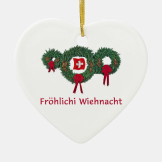 Swiss Christmas 2 Christmas Ornament