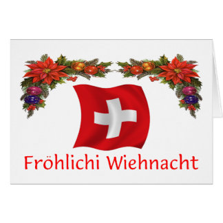Swiss Christmas Card