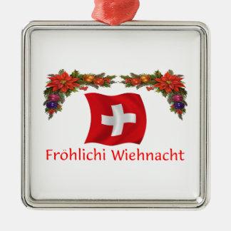 Swiss Christmas Christmas Ornament
