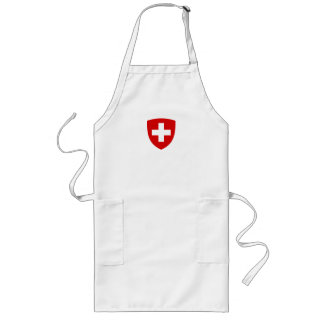 Swiss coat of arms - Swiss Souvenir Long Apron