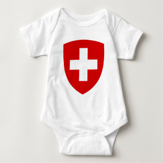 Swiss coat of arms - Swiss Souvenir Baby Bodysuit