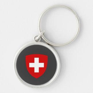 Swiss Coat of Arms - Switzerland Souvenir Key Ring