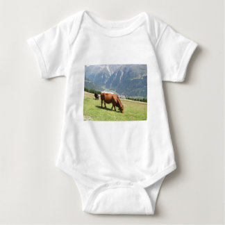 Swiss Cow Baby Bodysuit