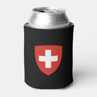 Swiss Crest Can Cooler  Schweizer Wappen-Dosenkühl