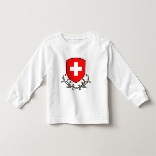 Swiss Crest Kids Lg sleeve Toddler T-Shirt