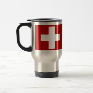 Swiss Cross Travel Mug