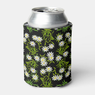 Swiss Edelweiss Alpine Flowers Can Cooler