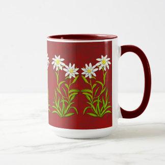Swiss Edelweiss Flowers Mug