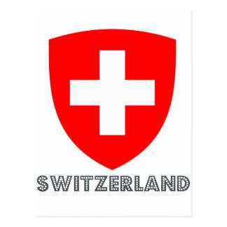 Swiss Emblem Postcard