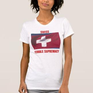 SWISS FEMALE SUPREMACY T SHIRT
