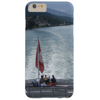 Swiss flag on back of cruise ship barely there iPhone 6 plus case