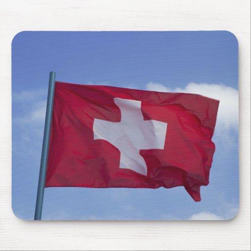 Swiss Flag RF) Mouse Pad