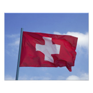 Swiss Flag RF) Photograph