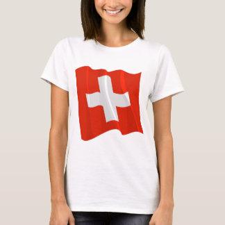 Swiss Flag Womens T-Shirt