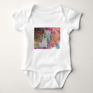 Swiss franks baby bodysuit