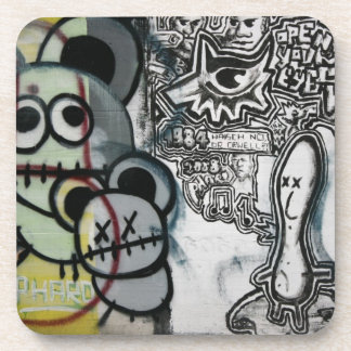 Swiss Graffiti Coaster
