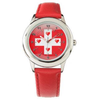 Swiss hearts watch