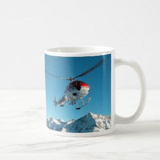 SWISS HELICOPTER CLASSIC WHITE COFFEE MUG