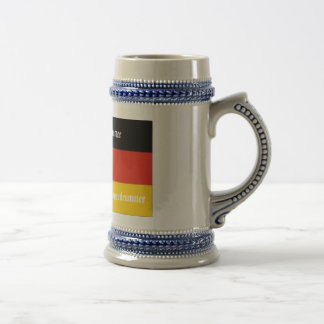 Swiss House Drummer Beer Stein
