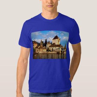 Swiss Images - Lakeside castle, Geneva T Shirt
