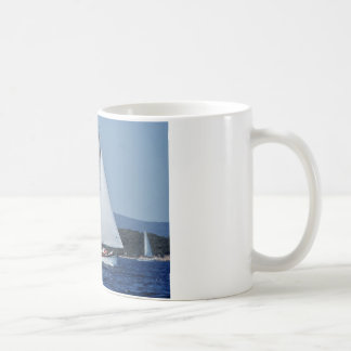 Swiss Ketch in Corsica. Coffee Mug