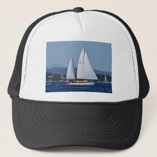Swiss Ketch in Corsica. Trucker Hat