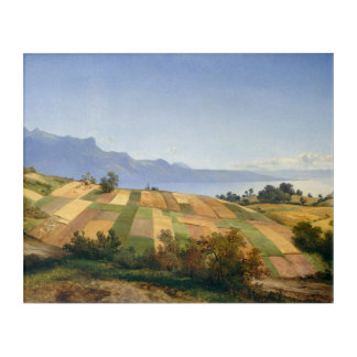 Swiss landscape by Alexandre Calame Acrylic Print