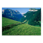 Swiss Landscape Greeting Card