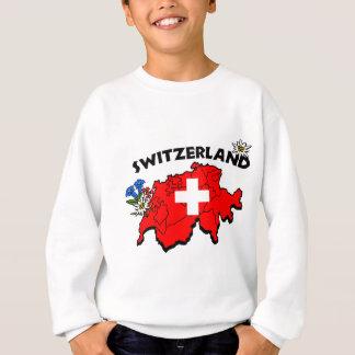 Swiss Map Kids Sweatshirt