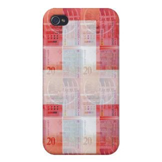 Swiss Money & Flag Case For iPhone 4