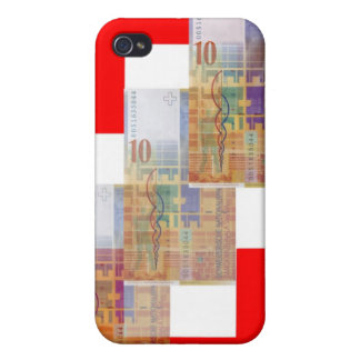 Swiss Money & Flag iPhone 4 Cover
