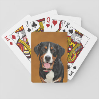 Swiss Mountain Dog Playing Cards