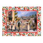 Swiss Nation Day Parade, Interlaken Postcard