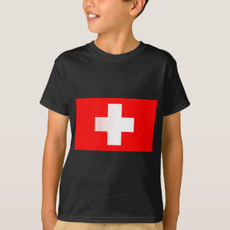 Swiss National Flag T-Shirt