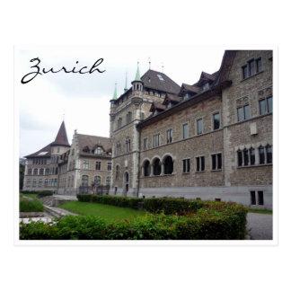 swiss national museum postcard