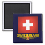 """Swiss pride"" Fridge Magnet"