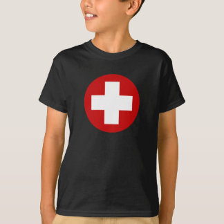 Swiss Red Cross Emergency Recovery Roundell T-Shirt