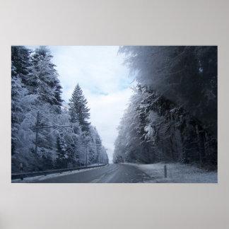 Swiss Roadway Poster
