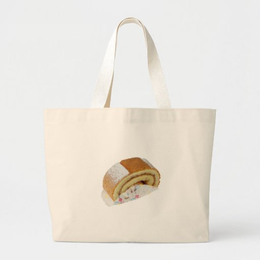 Swiss roll tote bag