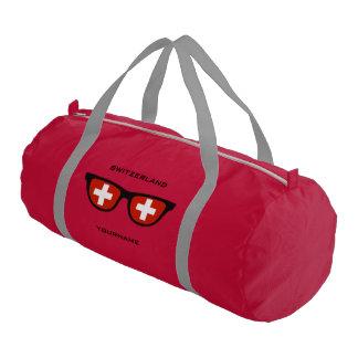 Swiss Shades custom duffle bags