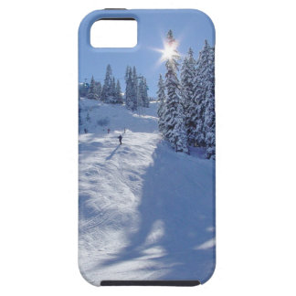 Swiss Ski by Dan iPhone 5 Cover