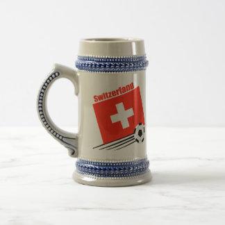Swiss Soccer Team Beer Steins